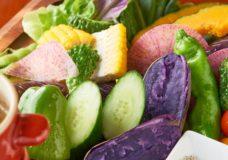 地元野菜のどか盛りバーニャカウダ